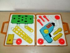 VINTAGE 1977 FISHER PRICE *TOOL KIT* #924. WORKING DRILL