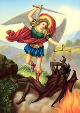 Heiliger Michael Schutzpatron der Deutschen Lucifer St. Bütten Sankt A3 0087