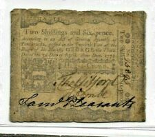 "(2 SHILLINGS & 6 PENCE) ""OLD COLONIAL"" 1772 (2 SHILLINGS & 6 PENCE) ""COLONIAL""!!"