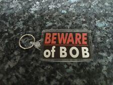 Beware of Bob Jumbo Keyring.Inspired by Twin Peaks. Horror. Lynch