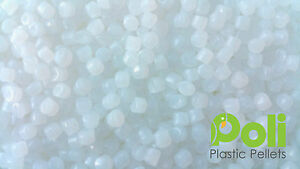 White Plastic Poly Pellets. Reborn, Bear/Doll, Autism Weighted Blankets