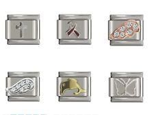 *UK* Classic Italian Charm fits Nomination 9mm Charm Bracelets Various Design UK