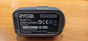Ryobi One+ RB18L25 Akku 18V 2,5Ah/45Wh Li-Ion Ersatzakku Neuwertig