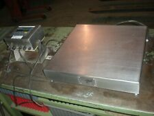 Weigh Tronix Bs 2020 A Bench Scale With Wi 125 Readout Ss 50kg X 5grams