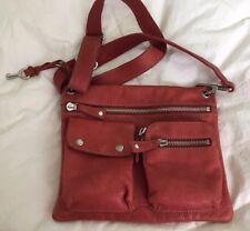 Fossil Sutter RED Leather Cross-body Handbag ZB2340-NICE