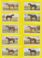 RACEHORSES  -  OGDENS  -  RARE  SET  OF  50  DERBY  ENTRANTS 1928  CARDS  - 1928