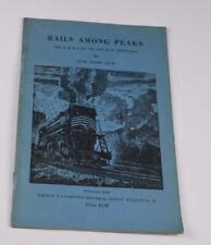 Rails AMong Peaks D & RG San Juan Mountains Josie Moore Crum