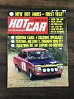 HOT CAR MAGAZINE DECEMBER 1969 TRIUMPH - MINI- MG 1300- RALLYING