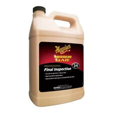 Meguiar's M3401 Mirror Glaze Final Inspection Polish & Residue Remover Gallon