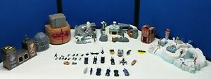 1995- 1998 Batman Micro Machine Playsets, vehicles and action figures included
