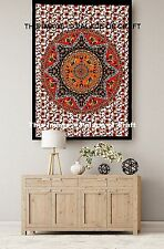 Elephant Mandala Print Tapestry Indian Wall Hanging Poster Yoga Mat Table Cloth