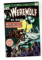 Werewolf By Night #33, VG- 3.5, 2nd Appearance Moon Knight