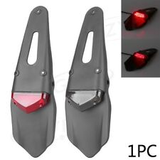 Motorcycle ABS Plastic Rear Fender with Tail Lights Universal fits for Dirt Bike