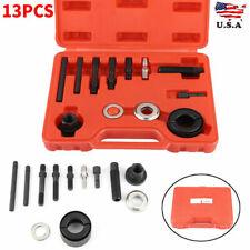 13pcs/Set Power Steering Pump Remover Alternator AC Pulley Puller Installer Kit