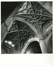 Italian Architecture, Seville Cathedral - Vintage 8x10 Photograph