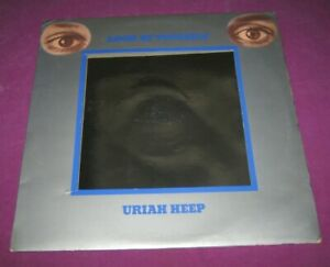 URIAH HEEP - LOOK AT YOURSELF - BRONZE UK 1971 VERY RARE GEM ORIGINAL 1ST PRESS