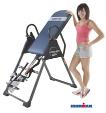 Ironman 4000 Gravity Inversion Table Body Power Stamina Back Pain Relief Therapy