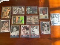 MICKEY MANTLE 12 CARD LOT-NEW YORK YANKEES- Scoreboard, Topps, Upper Deck, GM