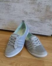 adidas PIONA W Grau Silber Damen Ballerina Sneakers Schuhe