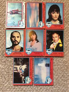 Topps Superman the movie trading cards job lot 1978 spares/repairs