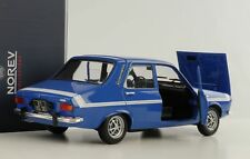 Renault 12 Gordini 1971 blau weisser Streifen diecast 1:18 Norev 185210