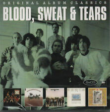 BLOOD SWEAT & TEARS - Original Album Classics 5 CD Set 016 sony