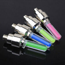4 color de la lámpara LED Flash Neumático Rueda Válvula de luz para Auto Moto Bicicleta Moto