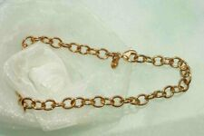 ARMBAND 750 ROTGOLD *rose* GOLD  20,5 cm 18 KT mit KARAB.  NEU  UNIKAT traumhaft