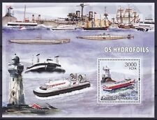 Guinea-Bissau Block 552 (3325) **, Luftkissenboote / Hydrofoils