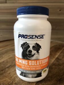 ProSense Anti-Stress Calming Tablets for Dogs, 60 ct