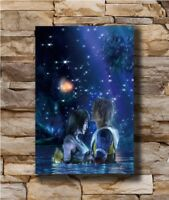 Hot Final Fantasy X Tidus and Yuna Game T173 New Art Poster 12x18 24x36 T-3872