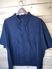 HB Harbor Bay Blue Navy Short Sleeved Shirt - Men's Size 3XL XXXL