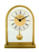 quartz mantel clock floating dial pendulum movement