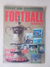FOOTBALL MONTHLY MAGAZINE JANUARY 1970 - FA CUP PREVIEW