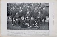 1900 Guerre des Boers Imprimé Officiers De 73rd Field Batterie