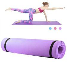 Tapis de sport,yoga,fitness,gym,musculation 173x61cm Violet