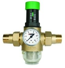 "HERZ Druckminderer Druckregler Manometer Wasserdruckminderer 1/2"", 3/4"", 1"""