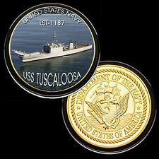 USS Tuscaloosa (LST-1187) GP Challenge pinted Coin