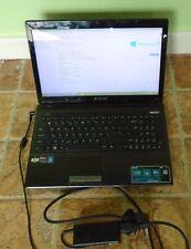 Asus x53u Laptop con 200gb SSD disco rigido installato, 1.6ghz, 8gb di Ram, Windows 10