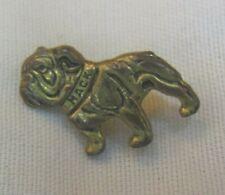 """Older Bulldog Named """"Mack"""" Tie Clip - Gold Tone"""