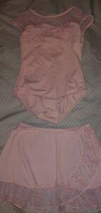 Bloch Ballet leotard and skirt set Size 6x-7 EUC