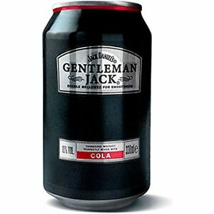 Jack Gentleman Whiskey  Cola 8x 0,33l10% Vol. incl.Pfand*NEU*