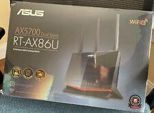 ASUS AX5700 Dual Band WiFi 6 Gaming Router - Black (RT-AX86U)