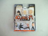 """MICRO ICONS Series 1 KUNG FU MASTERS Figures X-Concepts 2004 New1.5"""" Tall"""