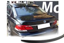 BMW E65 E66 7er Spoiler SCHWARZ matt Heckspoiler Abrisskannte Hecklippe levre