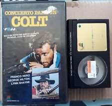 COLT CONCERT / PRE CERT / BETA PAL SPANISH RELEASE / LUCIO FULCI
