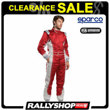 FIA SFI Suit Sparco Profy Size 56 Red Race Rally DayTrack -