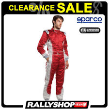 Black Friday FIA SFI Suit Sparco Profy Size 56 Red Race Rally DayTrack
