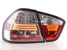 Coppia Fari Fanali Posteriori Tuning LED BMW serie 3 E90 Berlina 05-08, cromati