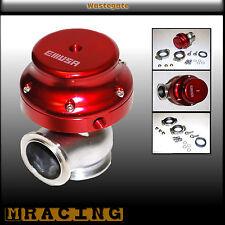 38mm wastegate VBand  RED Mazda3 5 RX7 Toyota Corolla Celica Scion Acura EMUSA